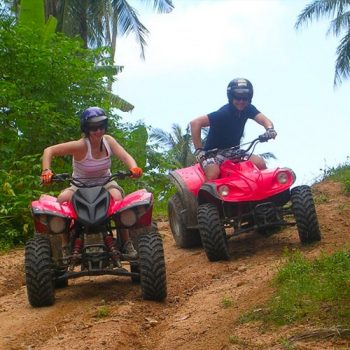 ATV Quad 1 or 2 hours Jungle Safari