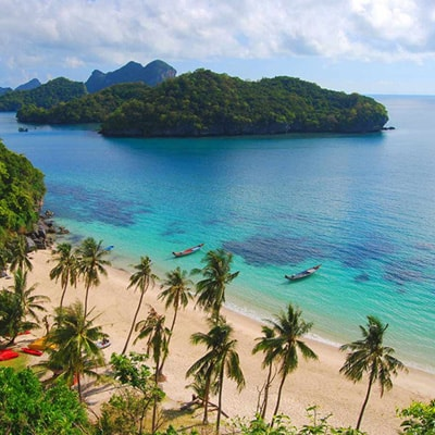 one day tour to angthong marine park