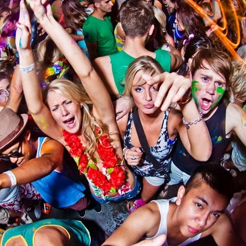 full moon party dates 2017