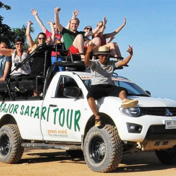 Jeep Safari Koh Samui Around Island Tour