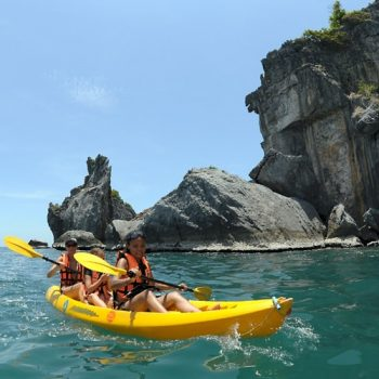 One day Kayaking at Angthong Marine Park