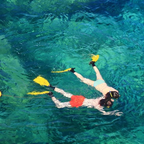 snorkeling at koh taen and the five islands