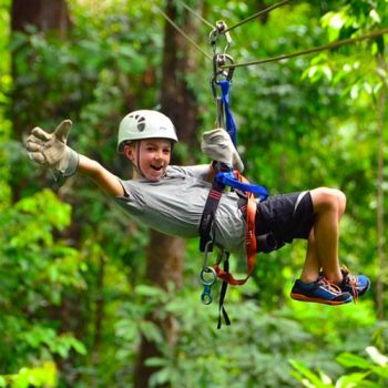 Zip Line Ride Through The Jungle – 850 Meters